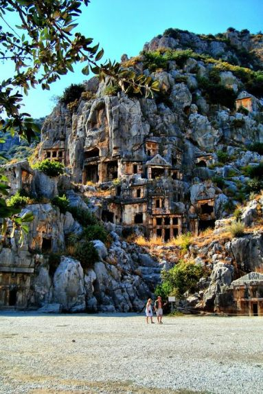 lycian rock cut tombs of myra.jpg